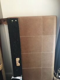 FREE leather brown bed