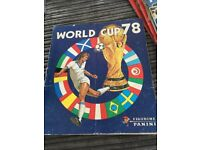 Panini figurine World Cup 78