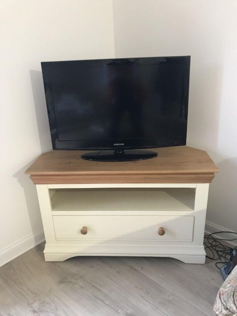 TV Corner Unit - Oak Furnitureland - Excellent Condition