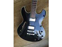 Aria Pro II Guitar - Black TA 40B