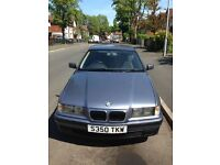 classic bmw e36 316i compact starts, runs and drives would suit spares repairs or project car (L@@K)