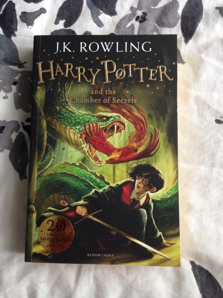 Harry Potter Chamber of Secrets book Brand New