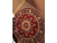 Round circular carpet