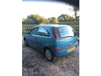 52 Vauxhall Corsa 1.0 litre mot october spares or repairs