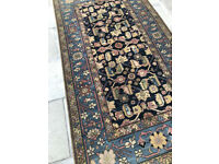 Eastern Rug , blue in colour. Size L 90in x W 48in. feel free to view , great colours..