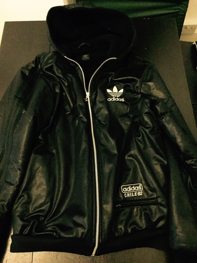 Mens Adidas Chile 62 Padded Jacket Large In Hammersmith