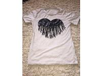Heart tassel t-shirt for sale!!
