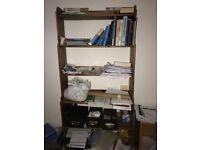Ikea wooden bookshelf