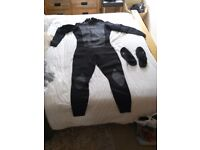 Gul Wetsuit and Ospray boots