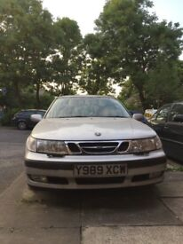 Saab 9-5 Automatic 2.3 turbo full Leather May 2001, Runs but Sold as Seen, SORN