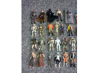 Star Wars Hasbro figures job lot 70 figures