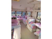 Bailey 4 berth shabby chic caravan ... going to miss dolly