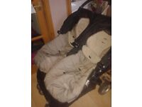Mini city double buggy stroller. Excellent condition. Must see.