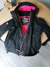 Ladies superdry windcheater jacket size L