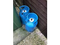 2 x 8kg Clalor gas BP butane - camping motor home caravan