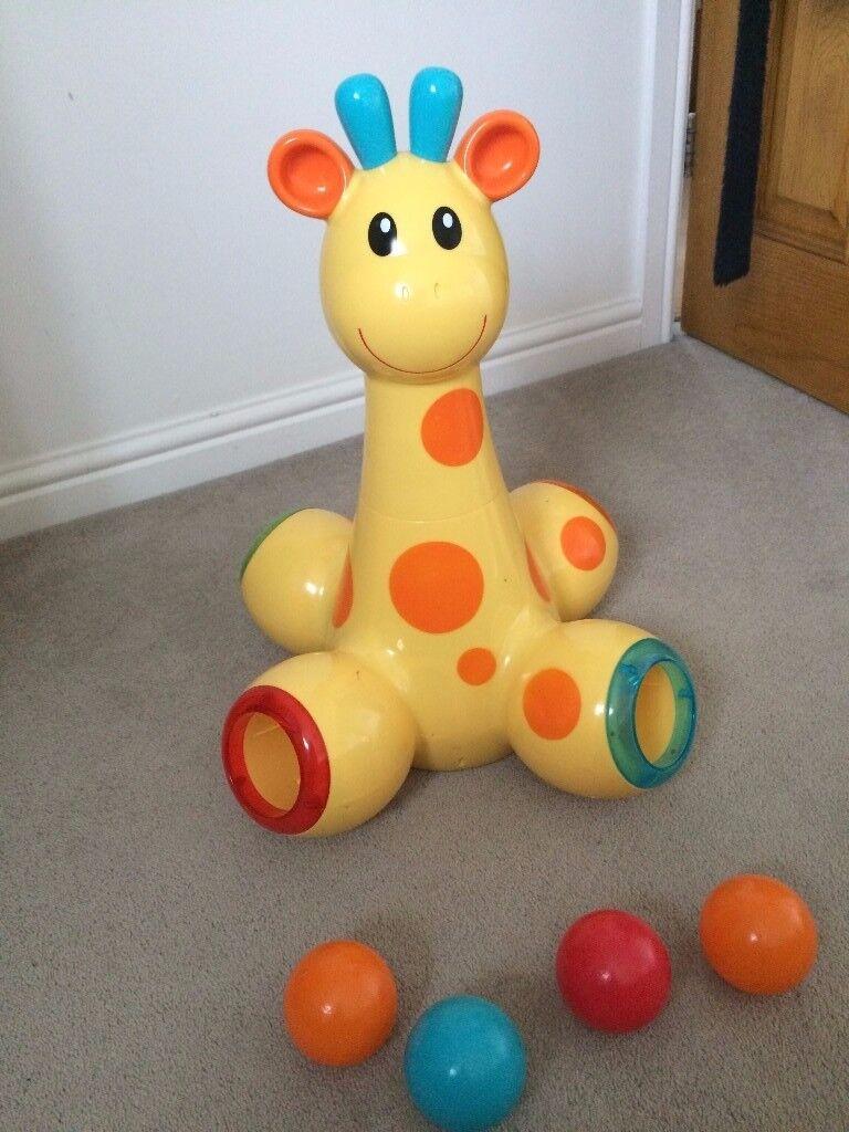ELC Drop & pop Giraffe