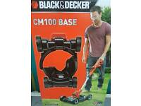 Brand new black and decker cm100 base trimmer lawnmover