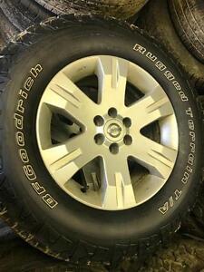 265/65/17 BFGoodrich Rugged Terrain T/A tires+rims 99%