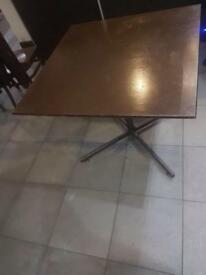 Restruant tables/chairs