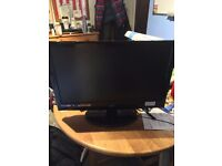 Full HD 1080p TV and monitor 22""