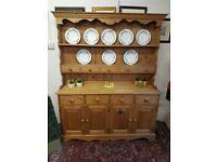 Durham Pine top quality country farmhouse kitchen dresser