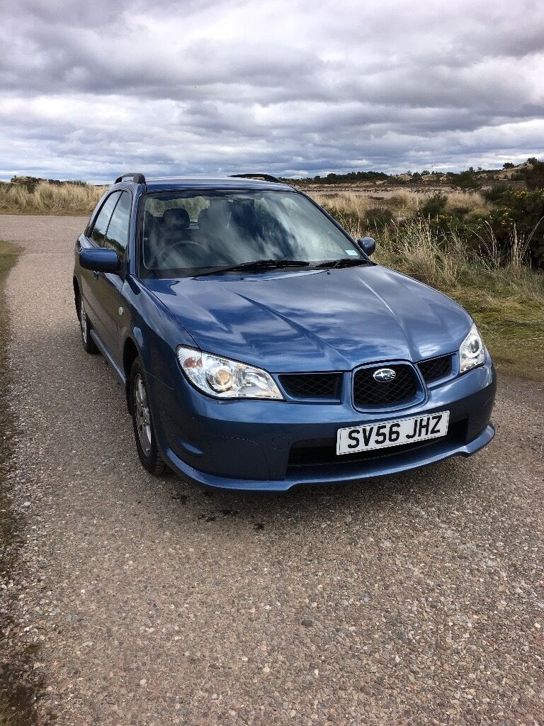 2006 subaru impreza awd need sold by weekend in forres. Black Bedroom Furniture Sets. Home Design Ideas