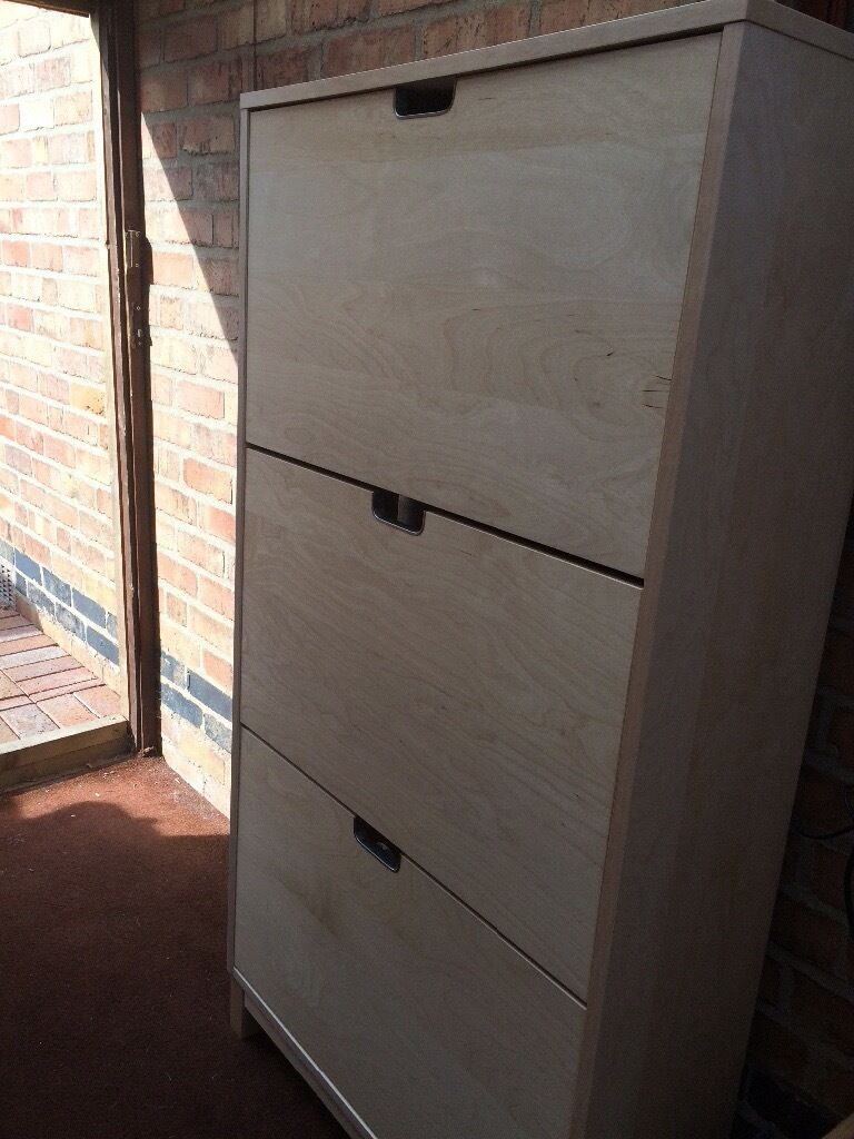 STALL Shoe Storage 96 X 90 birchin Enderby, LeicestershireGumtree - Brilliant shoe/bag storage cupboard from IKEA. Brand new not been used only selling because we made it up and it doesnt fit where we wanted to put it! Grab a bargain £50