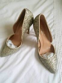 Carvela silver wedding shoes 3