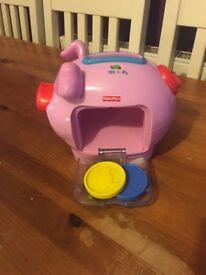 Fisher price pig