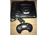 Sega Megadrive 16 bit console
