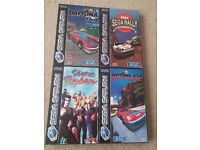 4 Sega Saturn games w boxes Sega Rally, Daytona, Daytona Champ, Virtua Fighter