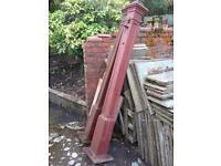 Cast iron posts