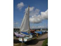 Gull mmark 3 Sailing Dinghy £395.00