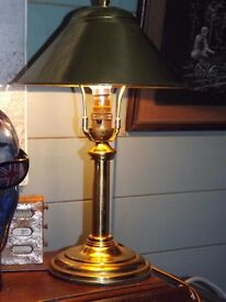 Retro Vintage Railway Carriage Table Lamp (Working)