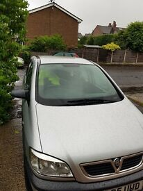 Vaxuhall zafira very good condition for sale