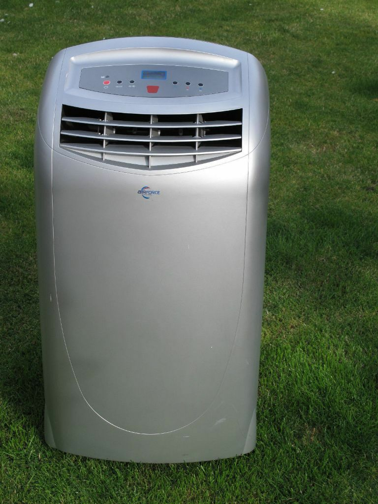 b q airforce 12000btu portable air conditioner wap358db. Black Bedroom Furniture Sets. Home Design Ideas