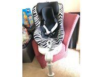 Britax Advocate G4 Convertible Car Seat, Zebra model