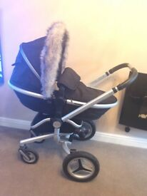 Silver cross surf 2 pram/pushchair/car seat
