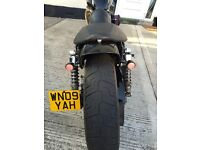 harley davidson XL 883L sportster customised