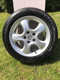 Vauxhall alloy wheels, irmscher softstar, rare