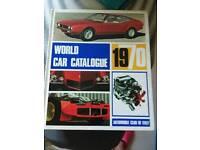 World car catalogue