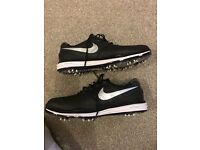 Mens Nike Lunar Control 3 Golf Shoes Black/White Worn Once