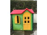 Little tikes country cottage evergreen playhouse