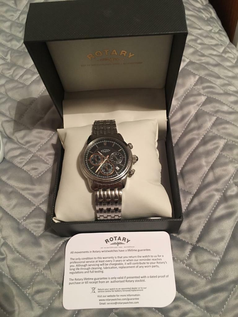 Rotary watch for swapin Chertsey, SurreyGumtree - Im selling my genuine rotary watch, immaculate condition, looking for a apple smart or offers?