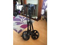 Dunlop Golf clubs, bag and trolley
