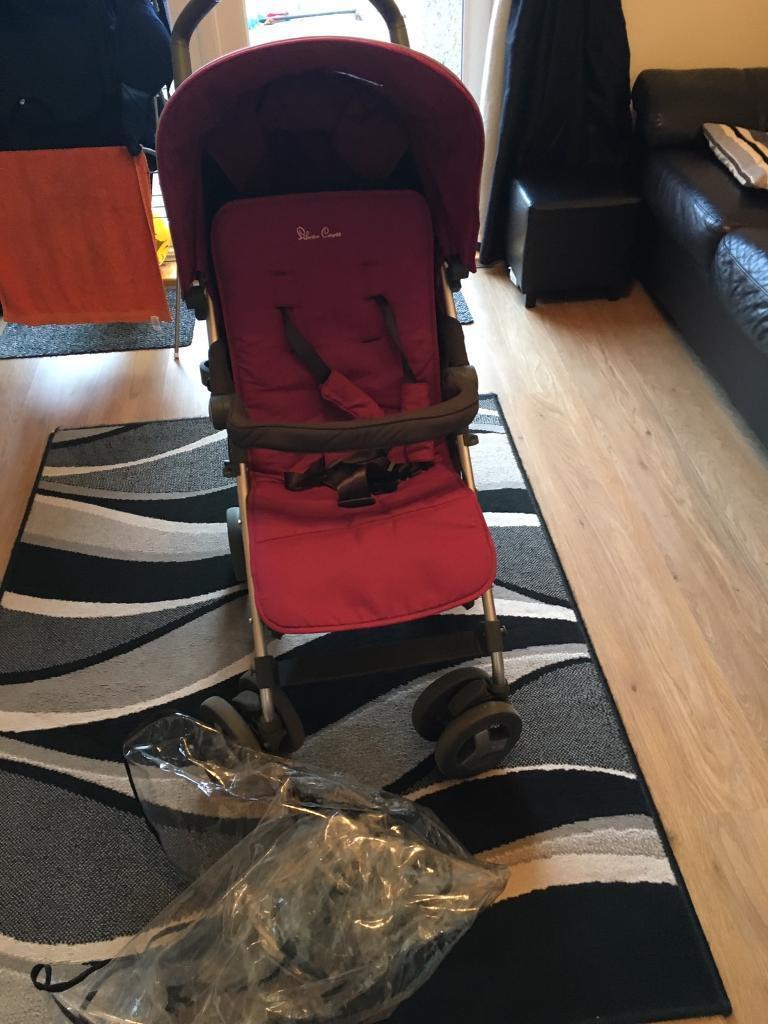 Silvercross reflex pushchair