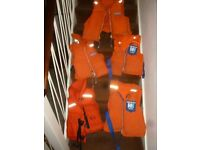 Buoyancy Aids. 4x Helly Hansen. 1x Lifeguard. Good clean condition.