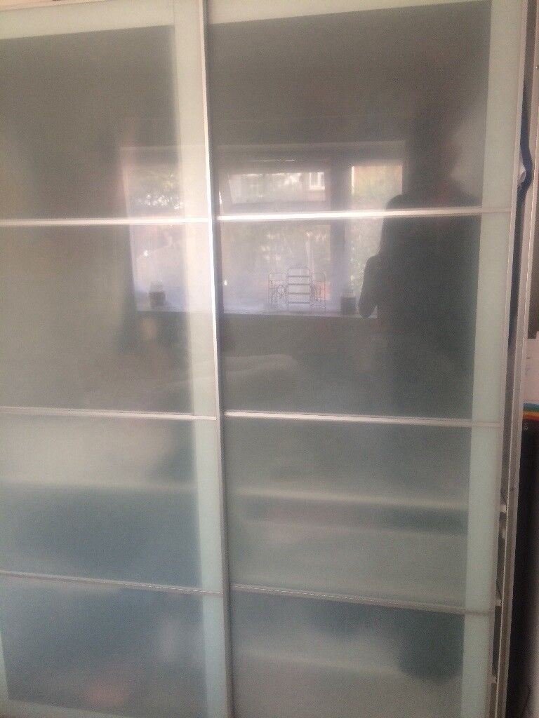 Ikea Pax Sliding Door Wardrobe Frosted Glass Door Only In Newport