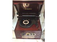 Steepletone Chichester 2 Turntable/CD/Tape/Radio