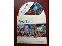 Final Draft 7 professional scriptwriting software